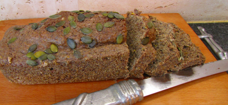 Low Carb Sunflower and Linseed Bread