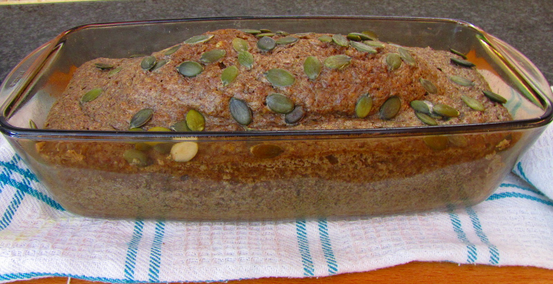 Sunflower and Linseed Low Carb Bread