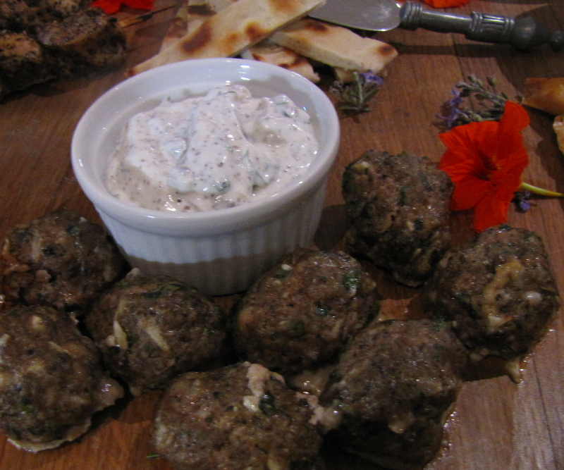 Turkish Meatballs with Ground Sumac