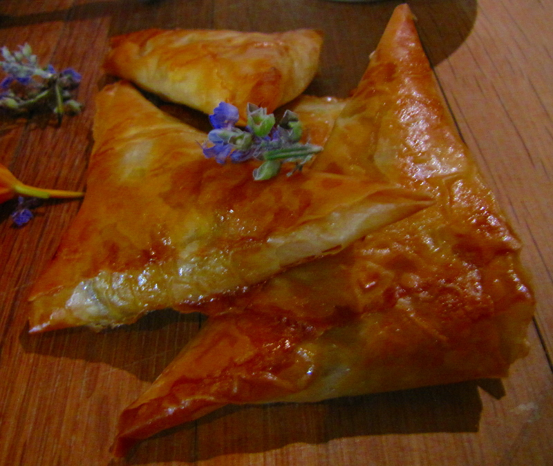 Turkish Lamb Phyllo Parcels