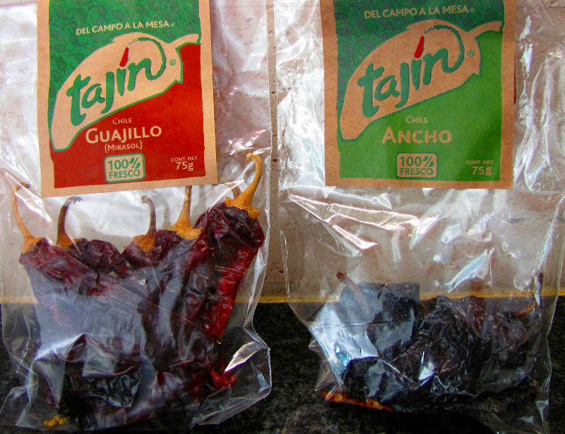 Ancho-and-Guajillo-Chillies